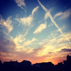 A lovely one tonight... #sunset #cloudporn #seaford (mrssandsy) Tags: sunset seaford cloudporn