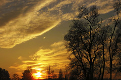 sunset (diadelluvia) Tags: sunset sol atardecer temuco resplandor