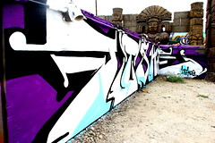 FISHE KOG (SPEAR1X) Tags: ca street cali graffiti losangeles graf socal spraypaint lts fishe kog