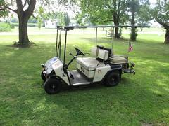 Before Baby Moon Hubcaps (Whitewolf Photography) Tags: car club golf dunn taylor yamaha cart buggy cushman