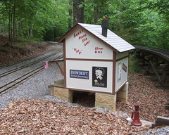 Rooms for Rent (clarkfred33) Tags: hotel track famous humor hobby bettyboop modelrailroad modelbuilding railroadbuilding outdoorrailroad cstpp scalerailroad railroadhobby railroadscene livesteamrailroad cantonstpaulpacific