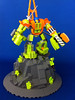 Mine Mech on stand 2 (Hen Peril) Tags: monster rock king power lego crystal hard suit miner mech moc