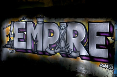 Empire: DFV-Empire  Night-Pieces BXLIV - 350x (Jupiter-JPTR) Tags: germany graffiti cologne empire colonia nightshots halloffame 354 ccaa nightvisions jptr dfv hallb hallworks nightpieces serialsensembles empiresession