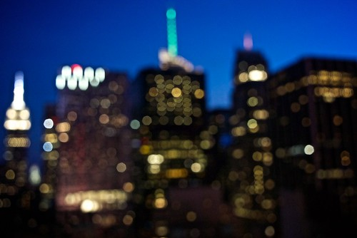 Impression of Manhattan Skyline