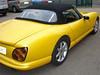 Chimaera TVR Cabrio von ALLHOODS LTD Verdeck