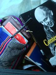 contemplative (LauraSorrells) Tags: book catholic prayer gift christianity benedictine contemplative trappist thomasmerton lectiodivina breviary laycistercian ruleofbenedict christiandecherge rb1980 contemplationinaworldofaction