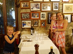 At Ristorante Guido (Ewan McIntosh) Tags: italy siena ristorante guido morganemcintosh catrionamcintosh annamcintosh