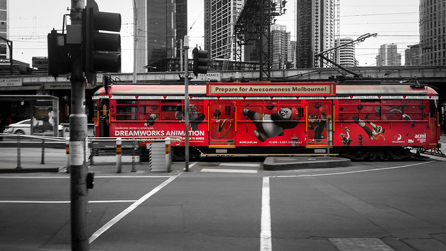 city winter tram melbourne apad 2014 365project samsunggalaxys5
