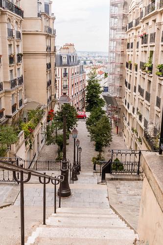 Dans Montmartre