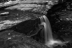 DSC_0370-2 (Michael P Bartlett) Tags: bw nature water waterfall rocks falls christmansanctuary