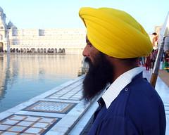 Amritsar, India (posterboy2007) Tags: india guard turban sikh pike amritsar goldentemple flickrandroidapp:filter=none