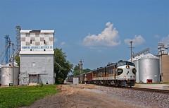 Summer Special (Jake Branson) Tags: city railroad car brooklyn train office illinois ns norfolk il special southern granite wr ocs f9 litchfield 4271 fp9 4270