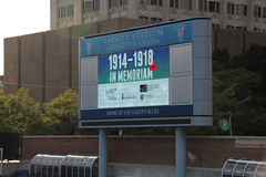 1914 - 1918 In Memoriam (Can Pac Swire (away for a bit)) Tags: toronto ontario canada heritage history one 1 1st anniversary military wwi universityoftoronto ceremony canadian 100th 100 ww1 1914 worldwar forces armedforces 1918 299 centenary bloorstreetwest varsitystadium i 19141918inmemoriam 20140731 aimg9938