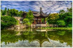 Chinese Garden (Vicky.Patel) Tags: seattle rose portland rainier olympic
