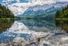 The Wetterstein Alps (mnielsen9000) Tags: lake reflection germany eibsee mountainrange wetterstein d600 nikon2470 wettersteinalps