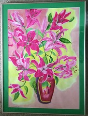 Pink Lilies (marthadrummond) Tags: may25