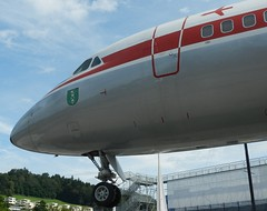 HB-ICC Convair 990 Coronado (graham19492000) Tags: museum coronado lucerne transportmuseum convair990 hbicc lucernetransportmuseum
