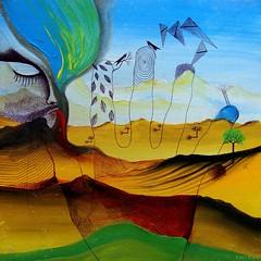 El hombre imaginario (Felipe Smides) Tags: painting parra hombre pintura poesía imaginario nicanorparra nicanor antipoesía smides felipesmides