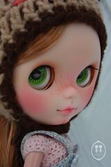 My Custom Commissions Blythe Doll.