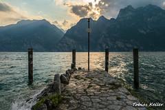 Lago di Garda (Tobias Keller) Tags: italien italy water see wasser aussicht trentino lakegarda lagodigarda gardasee torbole gewässer