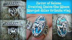 Favor of Selene  Drawing Down the Moon Margot Adler tribute ring (leespicedragon) Tags: