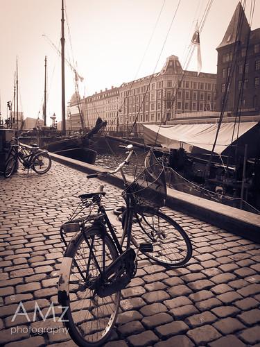 Bicycle on Cobblestone