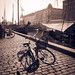 Bicycle on Cobblestone