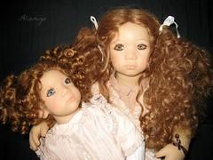 Irmi & Esme Himstedt (Tartadefresa) Tags: doll kinder 1997 annette esme puppen muñeca himstedt annettehimstedt