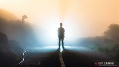 "Tai Mo Shan and me ("" FeiCross "") Tags: light night landscape hongkong ngc taimoshan  i canon6d tamronspaf70300mmf456divcusd"
