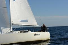 DSC_4052 (kenneth.sandvik) Tags: boat sailing sunny regatta indiansummer onestar skjæløy zhik boatsports zhikskjæløyonestar2014 onemanoneboat