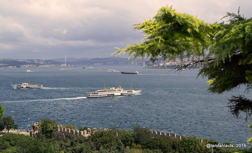 View of Marmara from Topkapi