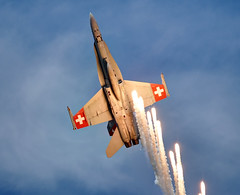 Air 14  Swiss F-18 Demo (Manuel Maas) Tags: