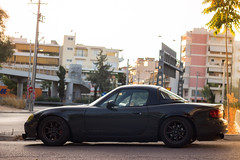 papRS miata02 (option-D) Tags: car greek bride track wide fast racing greece turbo seats mazda miata loud flares external intercooler mx5 drift rollbar rota flared autokonexion