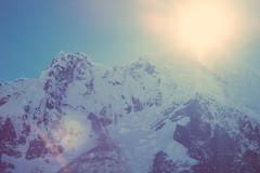 Sun Over the Mountain (EARnagram) Tags: sky sun mountains peru nature lens outdoors high altitude pass flare salkantay