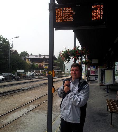 Zillertal (от Ани) - 15 - станция в Mayrhofen