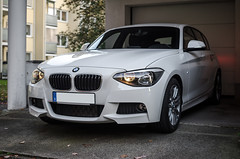 BMW 116i F20 M Sport (MSC_Photography) Tags: white car sport lights 1 power first front m bmw series hatch lichter 116i f20 f21 scheinwerfer alpinweis