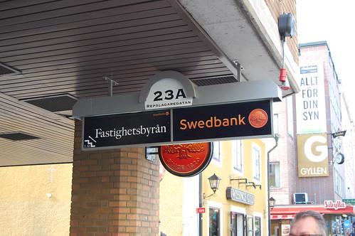Swedbank ljuslåda