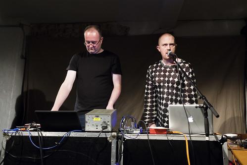 Phil Julian & Dale Cornish at Cafe Oto
