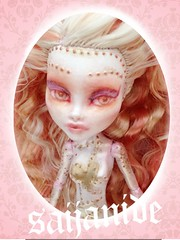 DOLLFACE PRG01 (saijanide) Tags: monster rose bronze silver gold robot high mod doll ooak steam pearl custom mh android repaint robecca stampunk saijanide