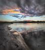 Shore line - Regatta (dazza17 - DJ) Tags: sunset lake water clouds reflections timelapse pano qld hdr daryljames httpdaryljamesphotographycom regattawaterssunset uppercooomera