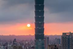 IMG_4642 (JIMI_lin) Tags: sunset 101 taipei 信義區 觀音山 大冒險 虎山峰