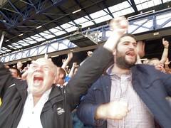 GOAL! Palace score at Everton (Paul-M-Wright) Tags: park uk england liverpool football crystal 21 soccer sunday palace september v match fc premier league efc merseyside everton 2014 goodison cpfc