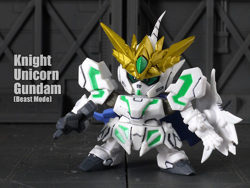 Knight  Unicorn  Gundam (Beast Mode)