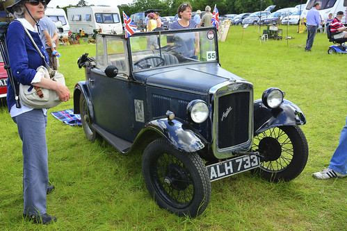 Woolpit Steam Rally, Classic Cars, Austin 7 PD Tourer 1933