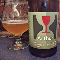 "Words fail to describe just how amazing this Arthur Farmhouse Saison from @hillfarmstead is. I'm going to stick with ""Wow!"" And get back to enjoying it!  #craftbeer #beer • <a style=""font-size:0.8em;"" href=""https://www.flickr.com/photos/54958436@N05/15384620485/"" target=""_blank"">View on Flickr</a>"