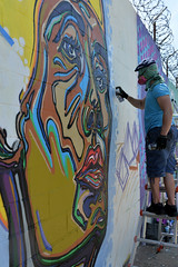 Fumeroism (Eddie C3) Tags: newyorkcity streetart streetscenes wellingcourt wellingcourtmuralproject