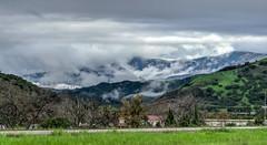 Mountains Through the Mist (tquist24) Tags: california hdr nikon nikond5300 ojai topatopamountains clouds geotagged green mountains sky storm tree trees unitedstates miramonte