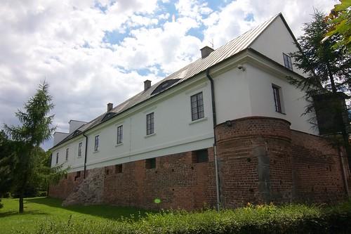 Zamek w Gosławicach od północnego wschodu
