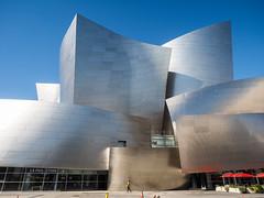 Disney Concert Hall (Feldore) Tags: disney concert hall los angeles architecture modern california feldore mchugh em1 olympus 1240mm curvilinear metallic frank gehry