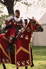 (Kkeina) Tags: horses people horse colour history medieval historic knight reconstruction